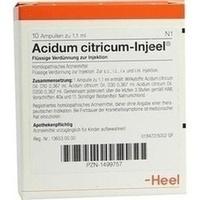 Acidum Citricum-injeel Ampullen