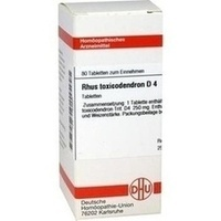 Rhus Toxicodendron D4 Tabletten