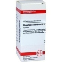 Rhus Toxicodendron D12 Tabletten