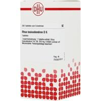 Rhus Toxicodendron D6 Tabletten