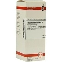 Rhus Toxicodendron D12 Dilution