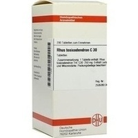 Rhus Toxicodendron C30 Tabletten