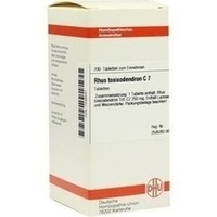 Rhus Toxicodendron C7 Tabletten