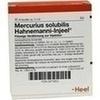 Mercurius Solubilis Injeel Hahnemanni Ampullen 10 St
