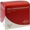 Schlitzkompressen Vlies 5x5 cm steril 4fach 25X2 St