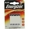 Energizer Micro Batterie 4 St