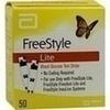 Freestyle Lite Teststreifen ohne Codieren 50 St