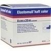 Elastomull haft color 8 cmx20 m Fixierb.blau 1 St