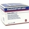 Elastomull haft color 6 cmx20 m Fixierb.rot 1 St