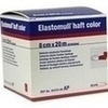 Elastomull haft color 8 cmx20 m Fixierb.rot 1 St