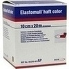 Elastomull haft color 10 cmx20 m Fixierb.rot 1 St
