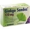 Ginkgo Sandoz 120 mg Filmtabletten 120 St