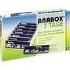Anabox 7 Tage Wochendosierer blau 1 St