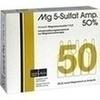 Mg 5 Sulfat Amp. 50% Infusionslösungskonzentrat 5 St