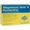 Magnesium Verla N Konzentrat Plv.z.H.e.L.z.Einn. 20 St