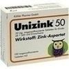 Unizink 50 magensaftresistente Tabletten 100 St