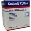 Cutisoft Cotton Kompr.10x10 cm ster.12fach 25X2 St