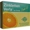 Zinkletten Verla Orange Lutschtabletten 50 St
