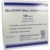 Zellstoff Mullkompressen 10x20 cm unsteril 100 St