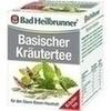 Bad Heilbrunner Tee Basische Kräuter Filterbeutel 8 St