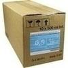 Kochsalzlösung 0,9% Glasfl. 10X500 ml