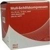 Schlitzkompressen Mull 10x10 cm steril 12fach 25X2 St