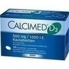 Calcimed D3 500 mg/1000 I.E. Kautabletten 48 St