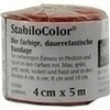 Bort StabiloColor Binde 4cm rot 1 St