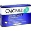 Calcimed D3 1000 mg/880 I.E. Kautabletten 48 St