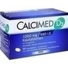 Calcimed D3 1000 mg/880 I.E. Kautabletten 96 St