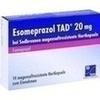 Esomeprazol Tad 20 mg bei Sodbrennen msr.Hartkaps. 14 St