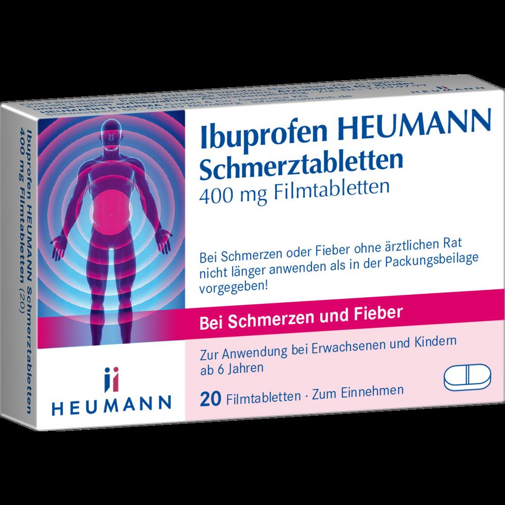 Ibuprofen HeumannSchmerztabletten 400 mg
