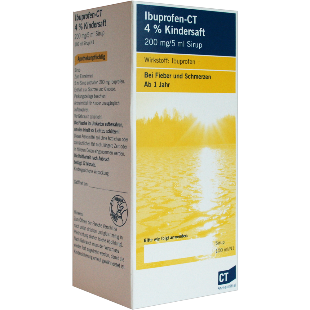 Ibuprofen-CT Kindersaft