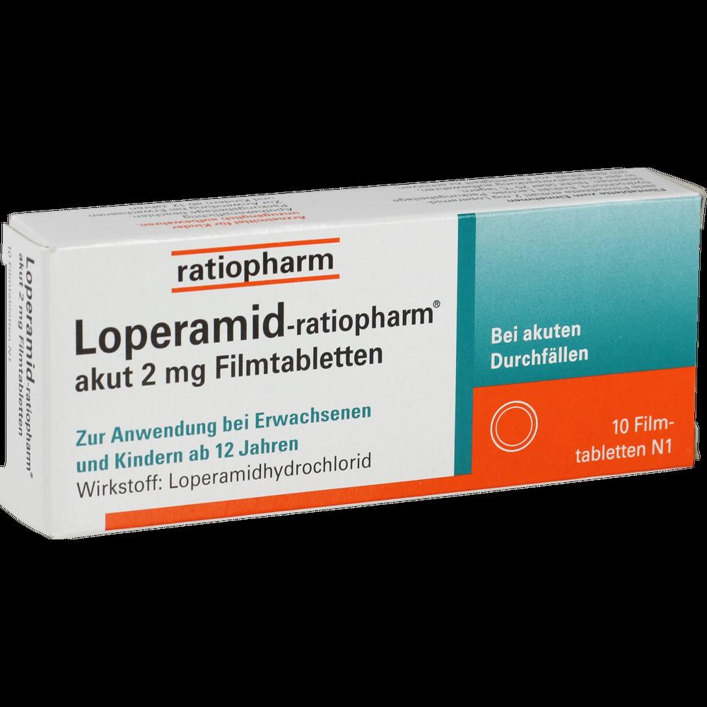 Loperamid-ratiopharm akut