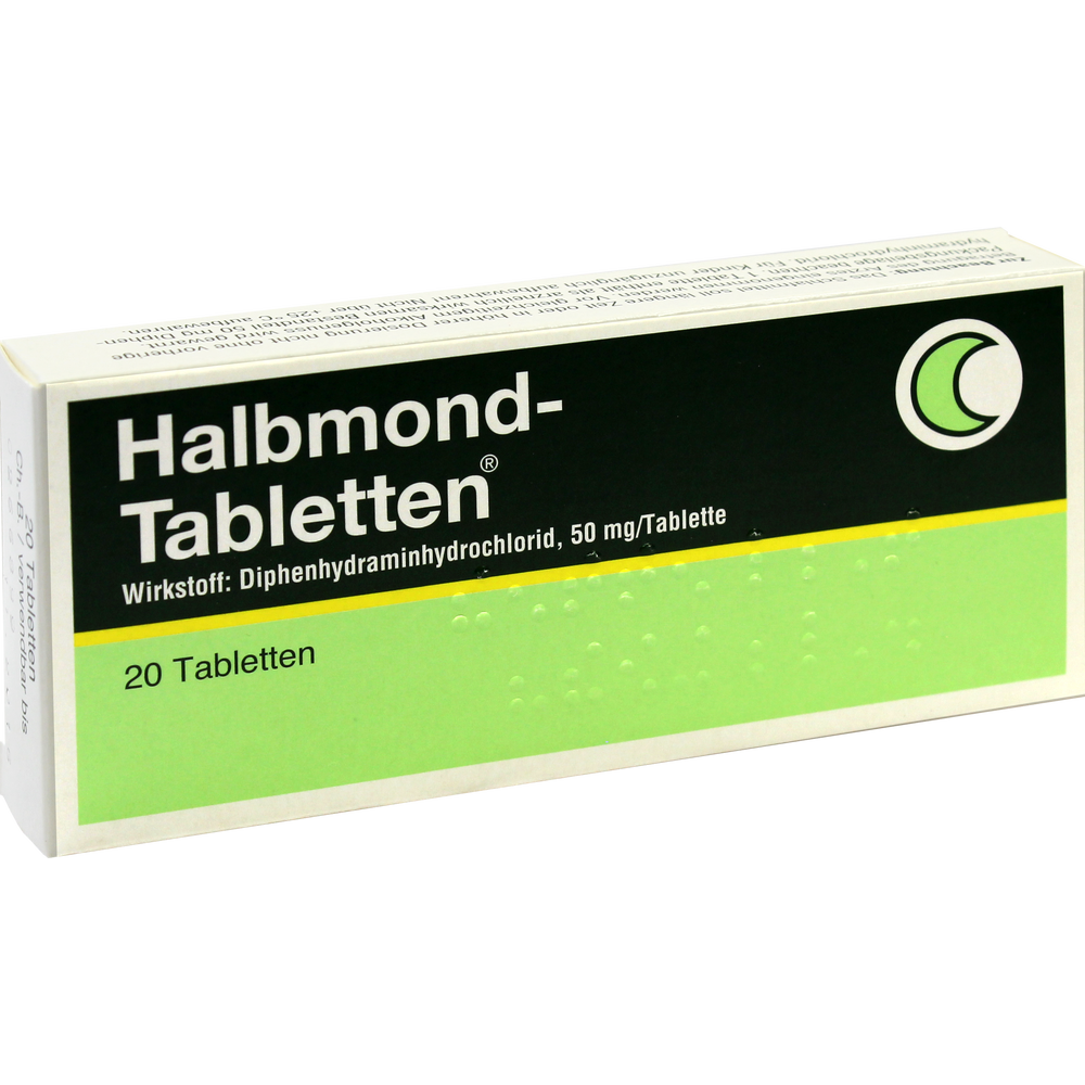 Halbmond-Tabletten
