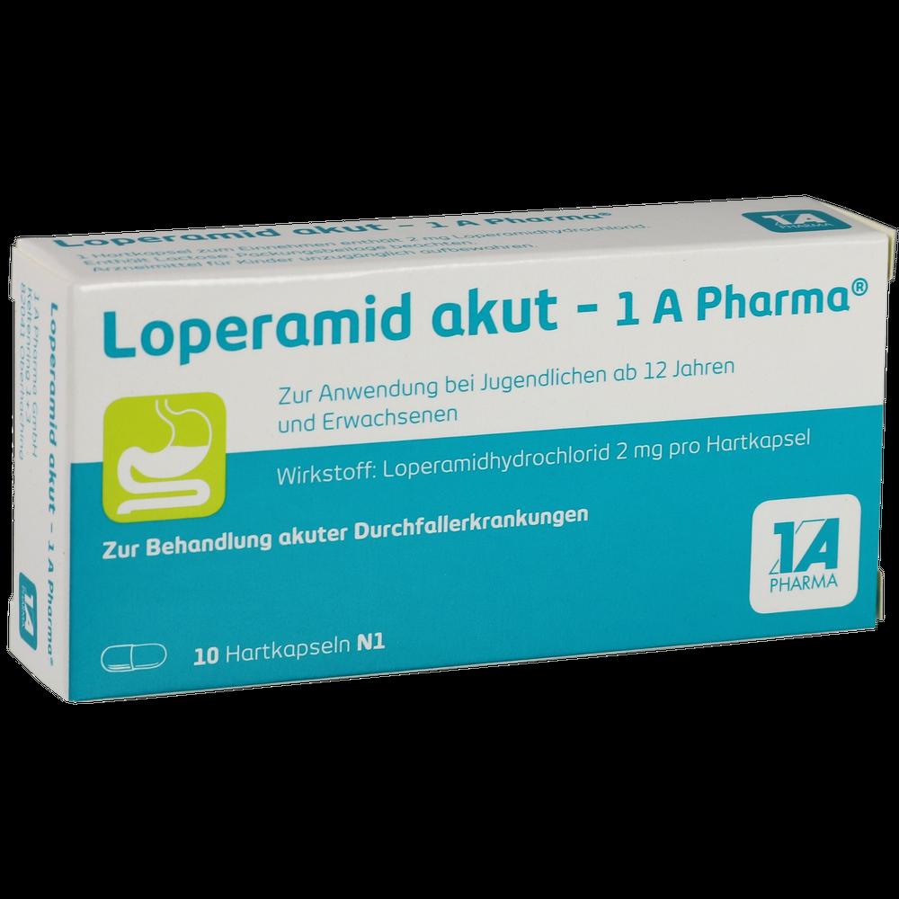 Loperamid akut 1A Pharma