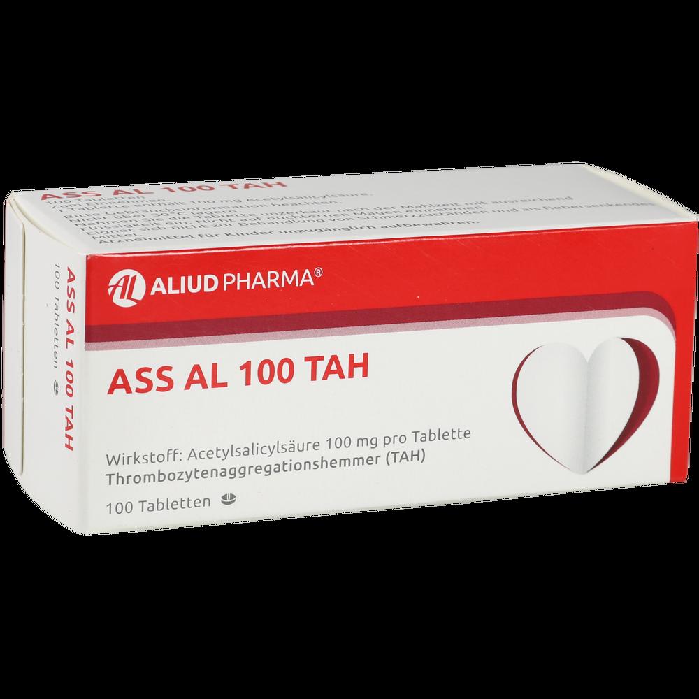 ASS AL 100 mg / 100 TAH