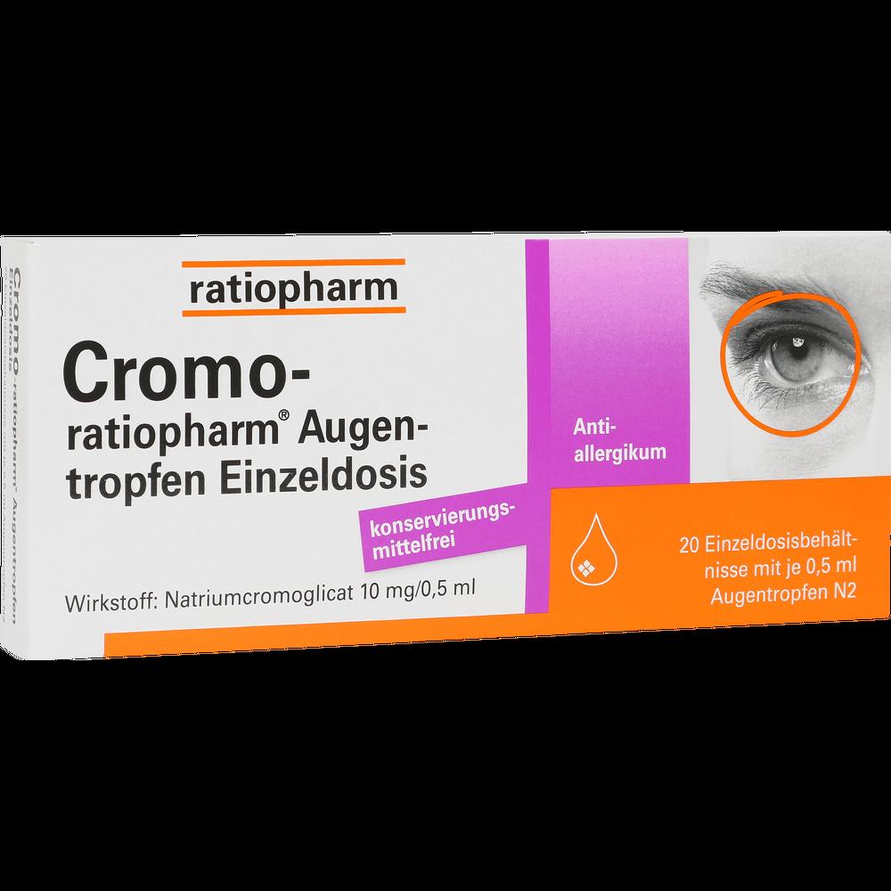 Cromo-ratiopharm AugentropfenEinzeldosis