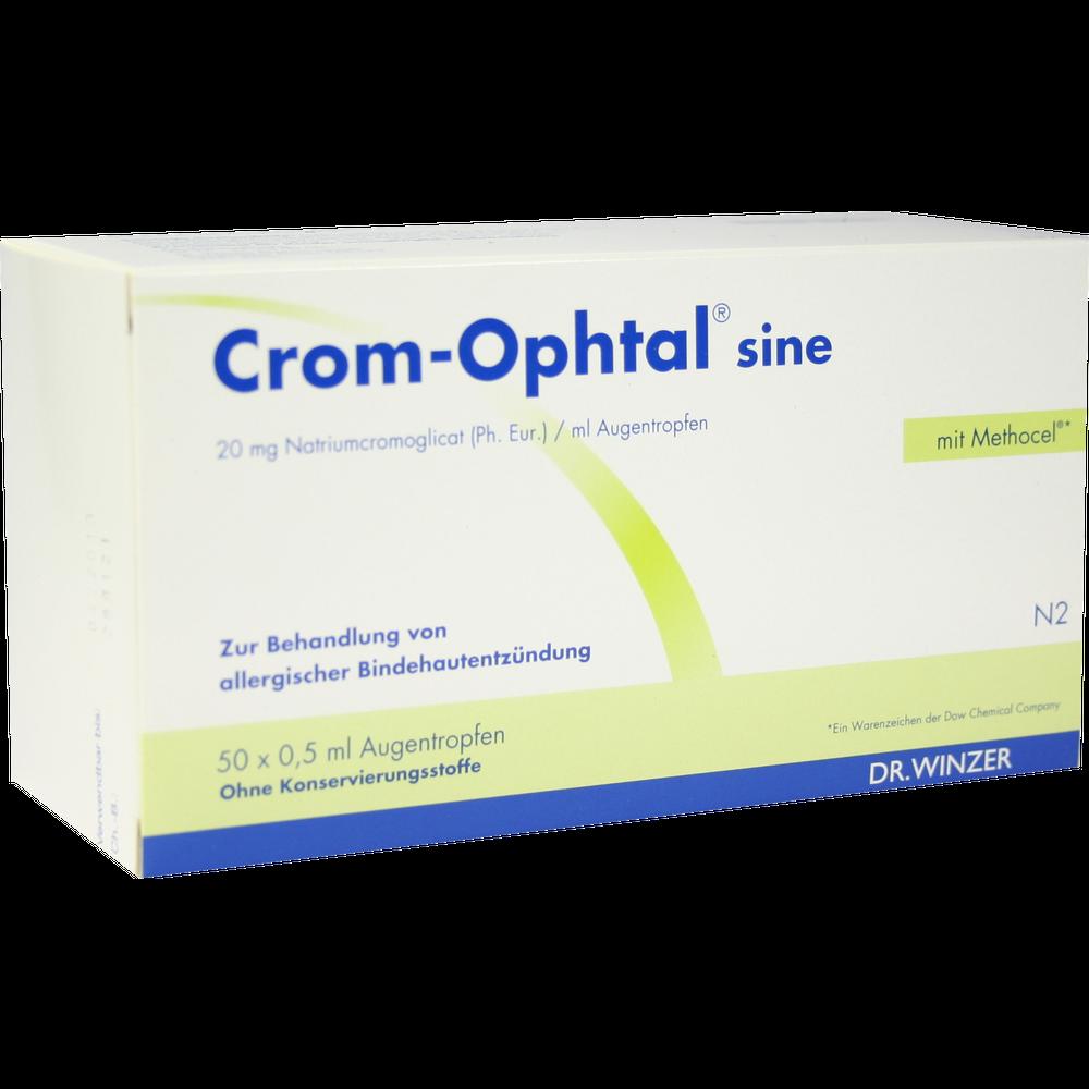 Crom-Ophtal sine Augen -tropfen