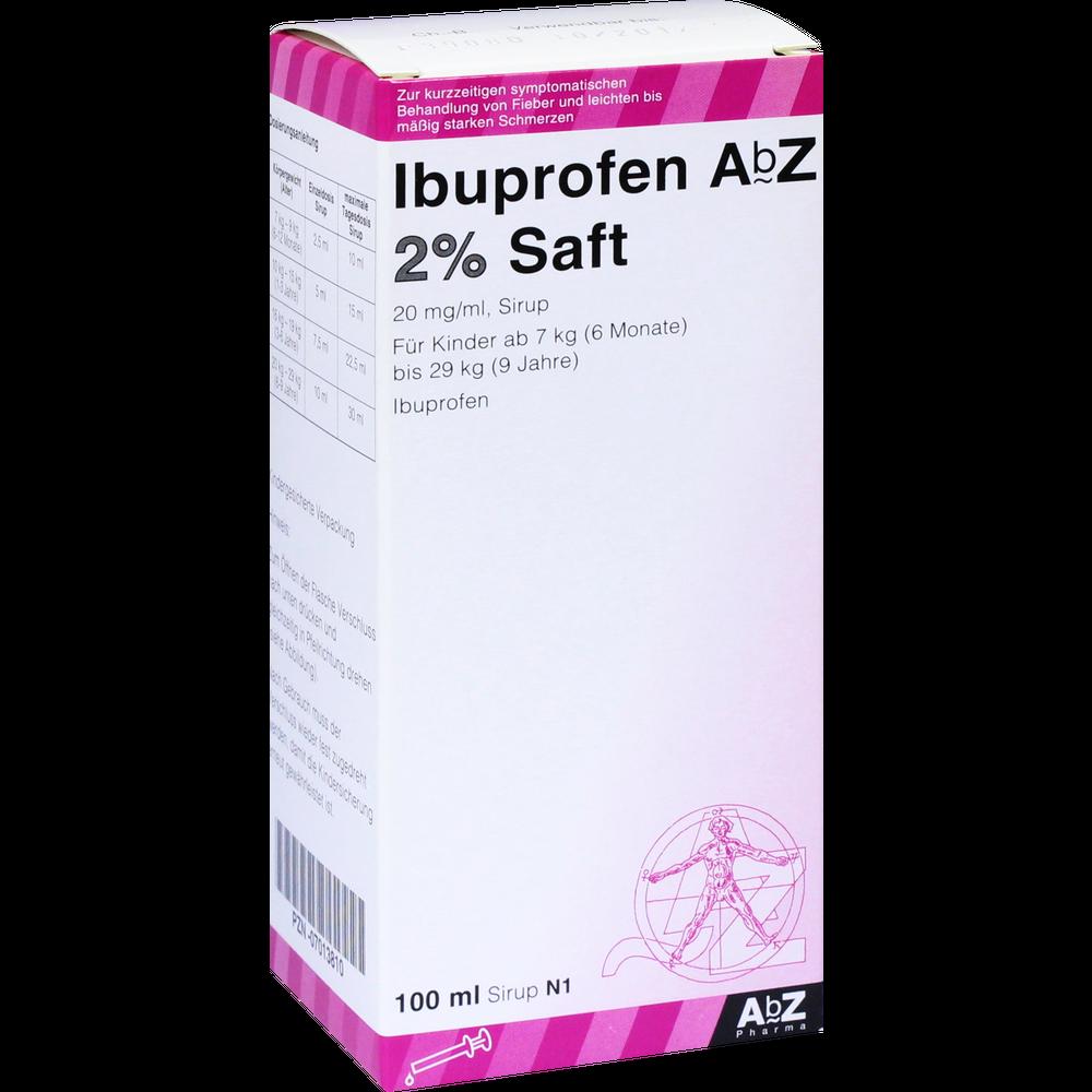 Ibuprofen AbZ Saft