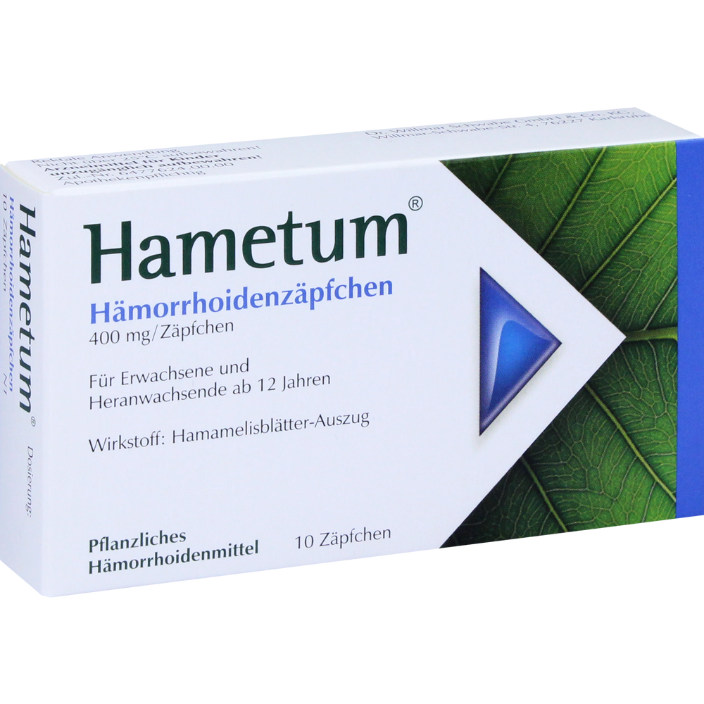 Hametum Hämorrhoiden -salbe / -zäpfchen