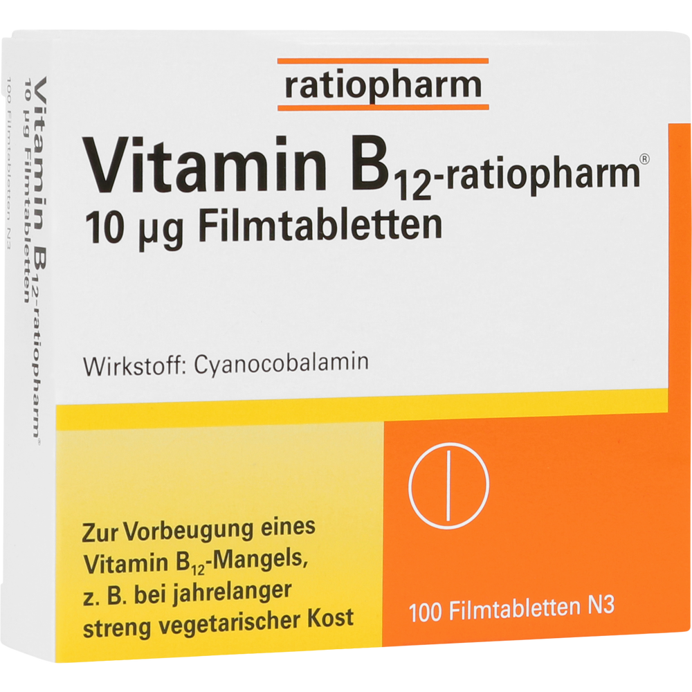 Vitamin B12-ratiopharm10 μg Tabletten