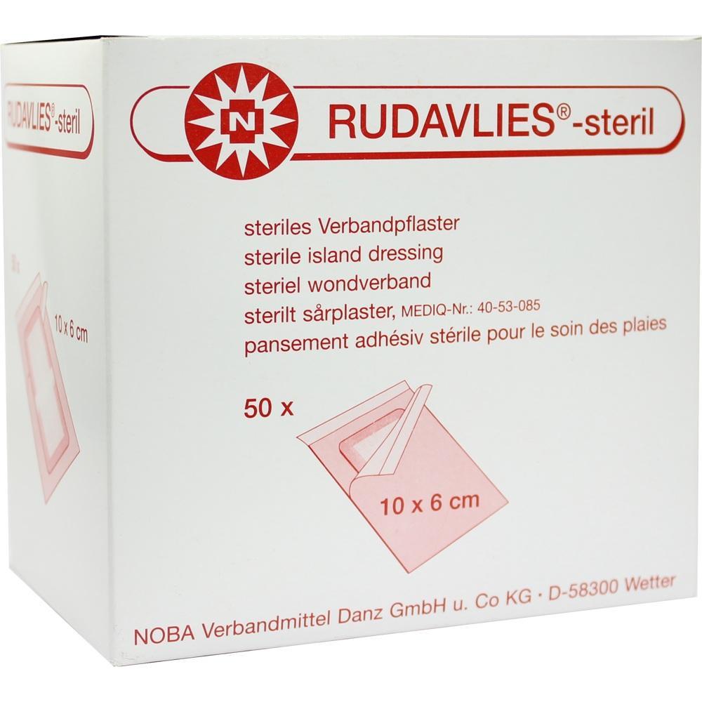 Rudavlies-steril Verbandpflaster 6x10 cm 50 St