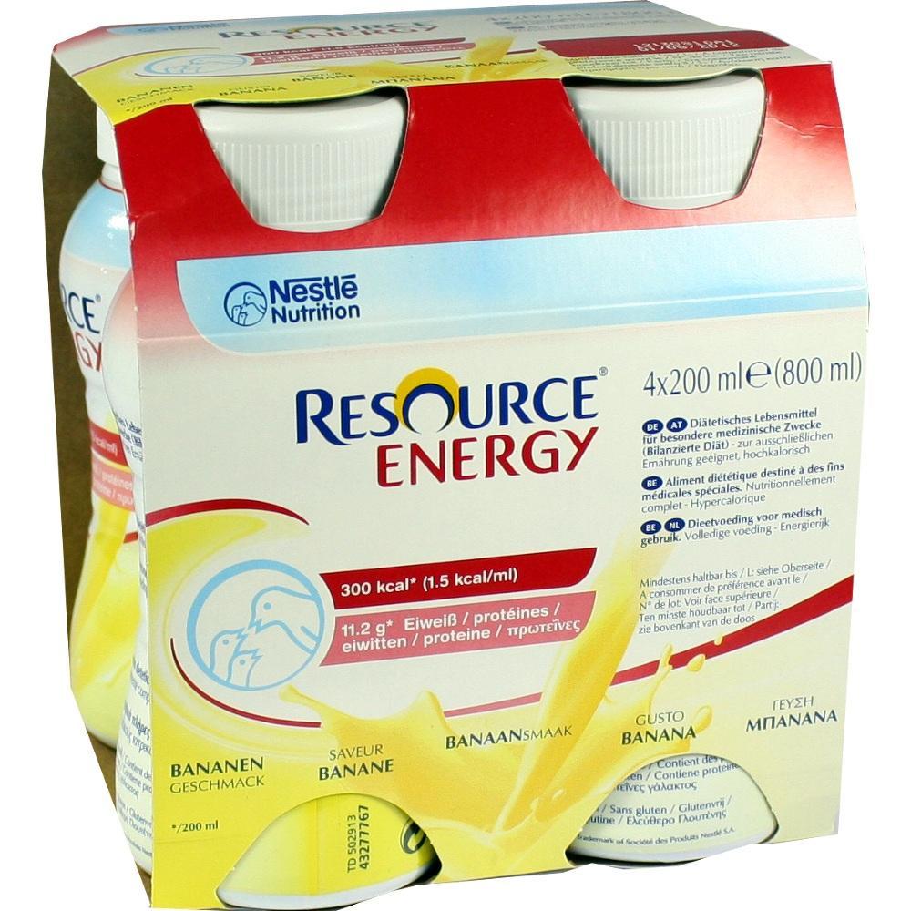 Resource Energy Banane 4X200 ml