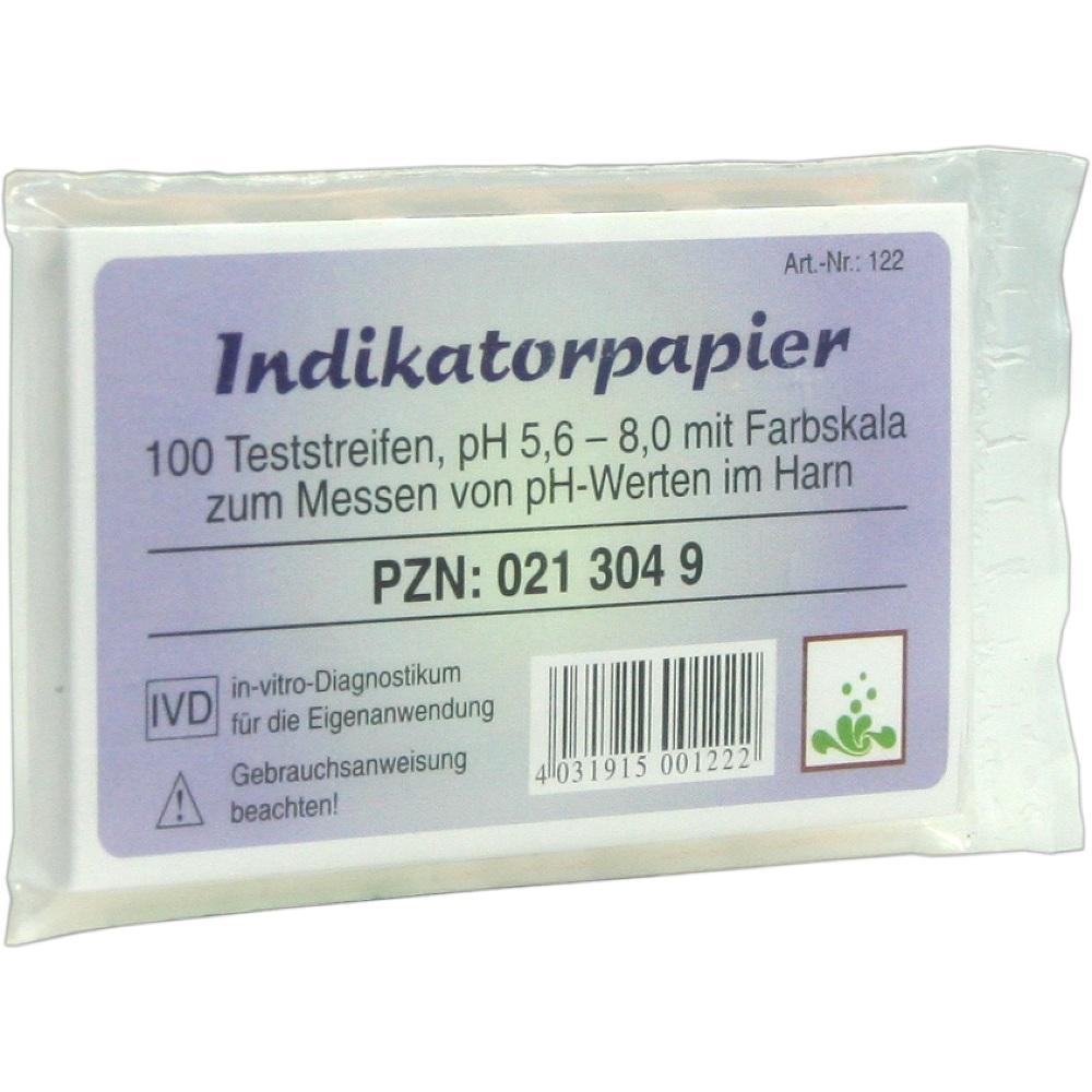 Indikatorpapier Teststreifen 100 St
