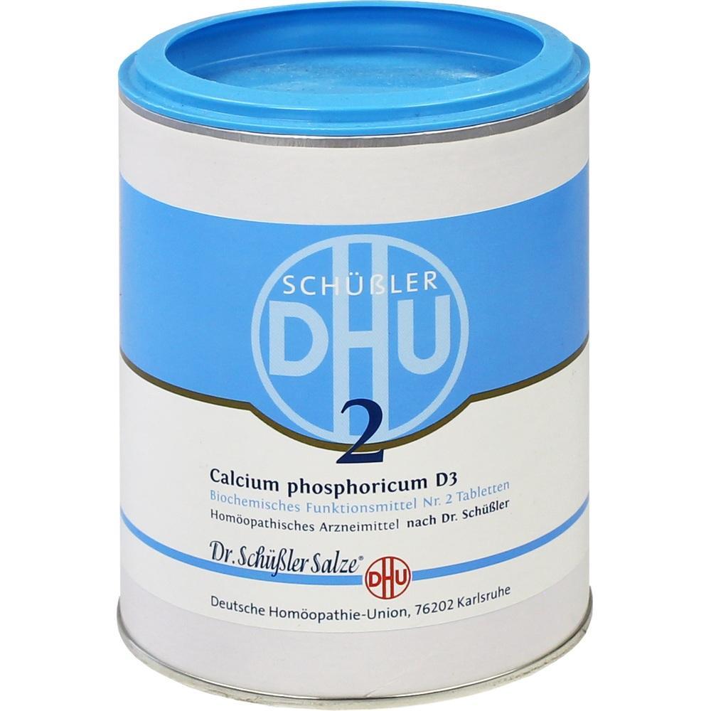 Biochemie Dhu 2 Calcium phosphoricum D 3 Tabletten 1000 St