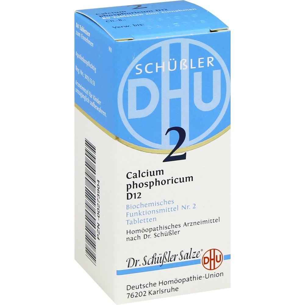 Biochemie Dhu 2 Calcium phosphoricum D 12 Tabl. 80 St
