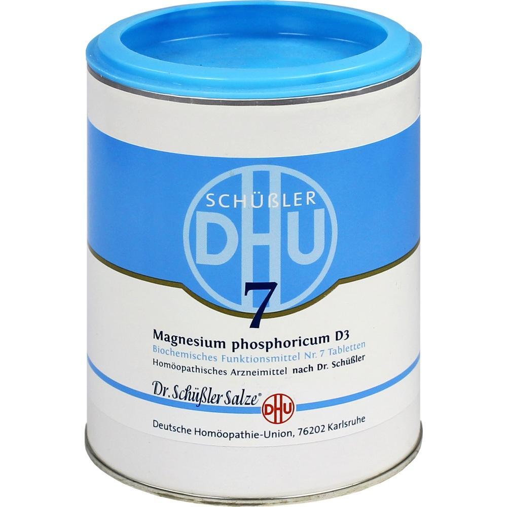 Biochemie Dhu 7 Magnesium phosphoricum D 3 Tabl. 1000 St
