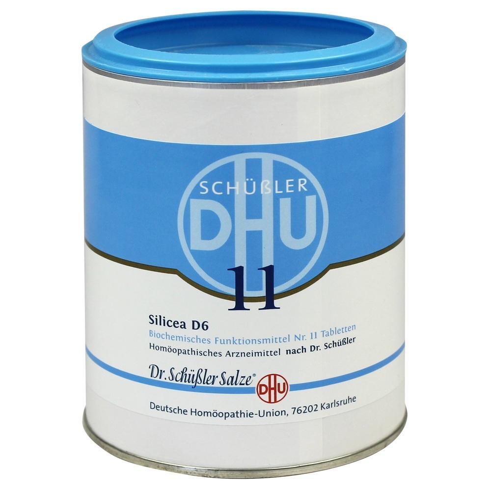 Biochemie Dhu 11 Silicea D 6 Tabletten 1000 St