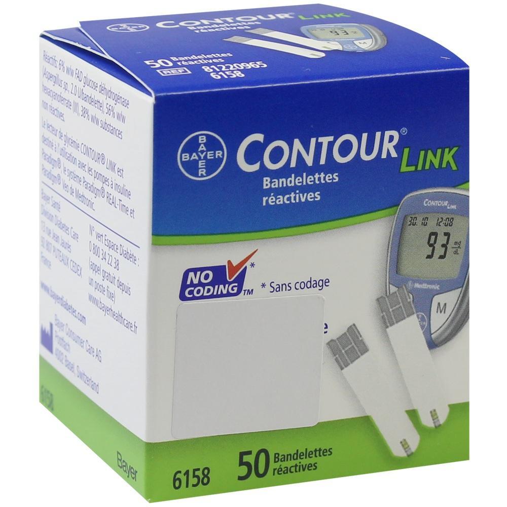Contour Sensoren Teststreifen 50 St